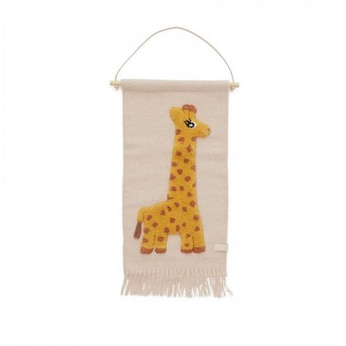 tapiz jirafa