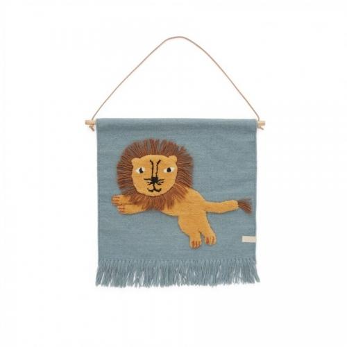 Tapiz león