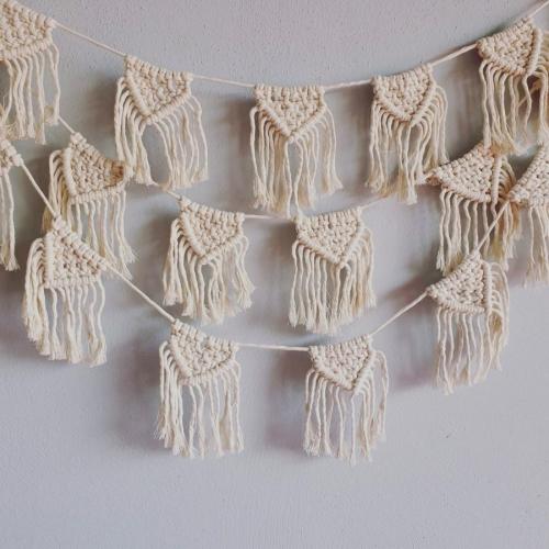 tapiz pared macramé